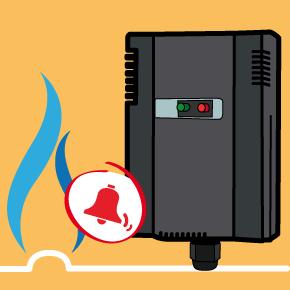 Rilevatore fughe gas refrigerante