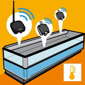 Monitoraggio della temperatura tramite sensori wireless